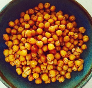 Crispy Sumac chickpeas