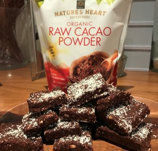 Date, Coconut & Cacao Bars